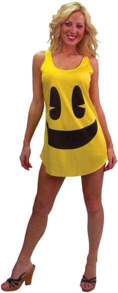 Women\u0027s Sleep Sweatshirt Pac-Man Charcoal Heather XL, Gray Pac man - madonna halloween costume ideas