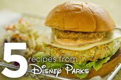 5 Recipes from Disney Parks #DisneyWorld