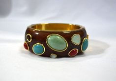 Bracelete tartaruga com pedras  - Vanguarda Blog&Shop - 158,85