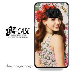Lana Del Rey Full Of Flower DEAL-6327 Samsung Phonecase Cover For Samsung Galaxy Note 7