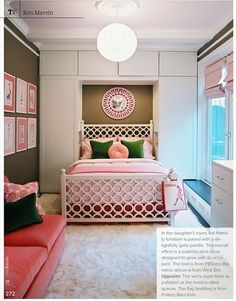 love the built ins for a kid's bedroom :)