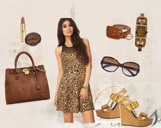 Animal Roar - User Love! A perfect blend of sweet meets sexy! #elitify #jabong #3otherthings #fashion #styling