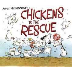 This rollicking story, made up of simple statements in a specific pattern, follows the fowls' heroics Monday through Sunday.