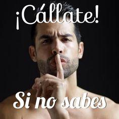 Frases Calleta si no sabes