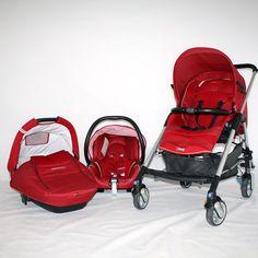 Trio Bebeconfort Streety Rojo - Original Bebés