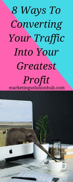 8 Ways To Converting Your Traffic Into Your Greatest Profit - Do you have a website which pulls in large number of visitors everyday? You can actually benefit yourself with the traffic and earn a great, residual income if you give a little more effort. Here are some of the greatest ways you can convert those traffic into mountainous cash.
