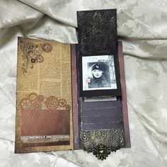# creator's festival #vintage #waterfall #album #steampunk #watch #scrapberry