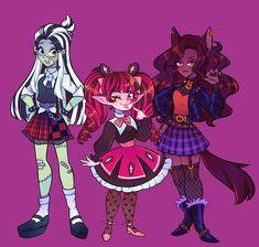 Monster Energy Girls, Monster High Art, Character Art, Character Design, Nostalgia Art, Social Media Art, Epic Art, Sketch Inspiration, Cartoon Shows