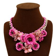 Cute/Party/Work/Casual Alloy/Gemstone & Crystal/Cubic Zirconia Statement – USD $ 5.70