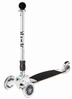 Kickboard Original by micro by Kickboard USA. $199.99. product number: KB0005  ages: teen-Up  color: polished aluminum  rider weight:: up to 220 lbs deck: wood and fiberglass composite deck length: 16.5 in weight: 9.1 lbs wheels: PU 87A high rebound cast urethane wheels front wheel diameter: 120mm back wheel diameter: 100mm wheel bearings: ABEC 5 brake: metal rear wheel brake special: extra wide wheels and d-tribal design NOTE: This product is not guaranteed for ...