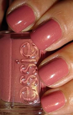 "Essie - ""All Tied Up"" - Just did my nails with this color!"
