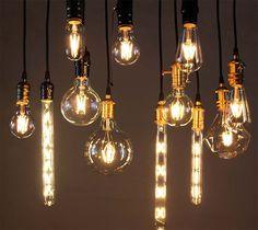Retro Vintage Aluminum Edison LED Light Bulb E27 Screw 220V Pendant Light 4/6W