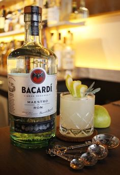 Mixing Bacardi Cocktails with the CHILLED 100's Cliff Mejia