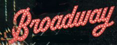 Multiple Broadway show tunes.  Google Image Result for http://www.musicalmidi.net/files/broadway_sign.jpg