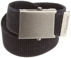 Columbia  Men's Military Style Belt: http://www.amazon.com/Columbia-Mens-Military-Style-Belt/dp/B001FOR2DS/?tag=monmak04-20