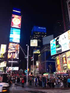Times Square at night!!