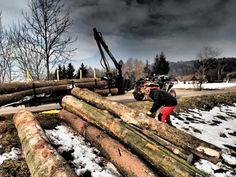 Timber trailer Vahva Jussi