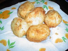 Deliciosas papas rellenas con queso -  Potatoes filled with cheese. Typical Chilean food
