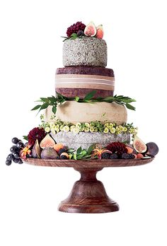 "Love this ""wedding cake"" from Murray's Cheese, New York, NY & it's only $250!!!!"