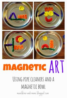 Munchkins and Moms: Magnetic Art