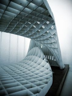 paravilion - parametric design research  photographed by on_offfff