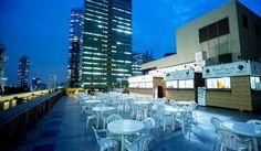 夏の風物詩天空のビアガーデン 肉テラスが期間限定オープンHILTON TOKYO