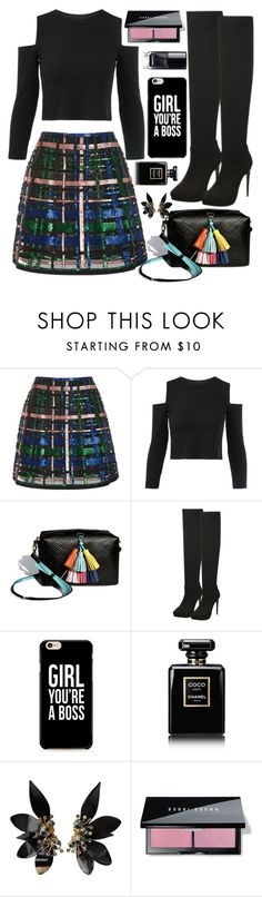 """""""#220 Exquisitely"""" by mayblooms ❤ liked on Polyvore featuring Elie Saab, Chanel, Marni and Bobbi Brown Cosmetics"""