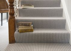 Best Totally Free striped Carpet Stairs Concepts One of the fastest ways to reva. Best Totally Free striped Carpet Stairs Concepts One of the fastest ways to revamp your tired old s Neutral Carpet, Patterned Carpet, Grey Carpet, Carpet Colors, Modern Carpet, Patterned Wall, Fur Carpet, Grey Striped Carpet, Mohawk Carpet
