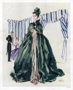 René Bouet Willaumez, Evening Gown, 1938