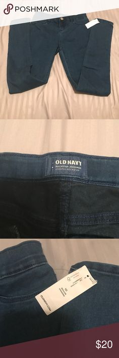 I need 1 pair of blue, 1 pair of black, and 1 paid of olive Old navy rockstar jeggings