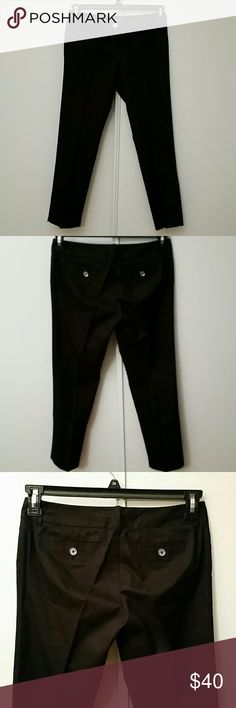 Michael Kors Wellesley ankle fit 100% cotton New without tags, never worn Zipper closure with double button  2 back pockets holes Pants Trousers