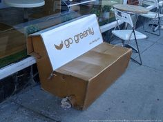 Cardboard Bench Bench, Ideas, Thoughts, Desk, Bench Seat, Sofa, Crib Bench