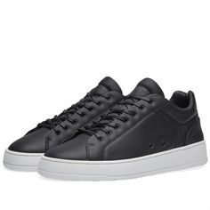 vette ETQ. Low Top 4 Sneaker (Black)