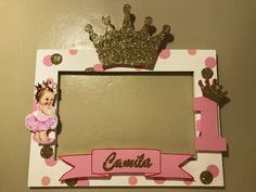 Baby girl princess shower themed parties 31 Ideas in 2020 Baby Shower Frame, Idee Baby Shower, Baby Shower Themes, Shower Ideas, Princess Theme Birthday, 1st Birthday Girls, 1st Birthday Parties, Themed Parties, Birthday Party Decorations