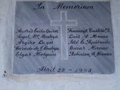 Abril 28 1998, paramilitares reunen a los 10 miembros de la junta de acción comunal del corregimiento de La Encarnación y los asesinan a todos