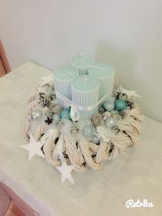 Advent Wreaths, Hanukkah, Christmas Ideas, Box, Inspiration, Home Decor, Let It Snow, Christmas Decorations, Christmas