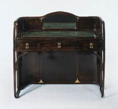 koloman moser,  bentwood dressing table