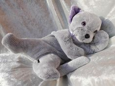 LUXURY Cuddly Cat Bear  Quality ultrasoft by TALLhappyCOLORS, €72.00