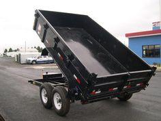 Big Tex 6.8 x 12 Dump Trailer – Power Up/Gravity Down $5,700 www.trailersuperstore.com