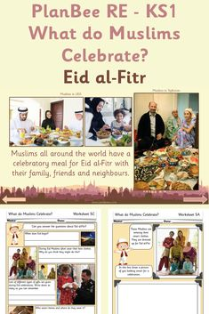 What do Muslims Celebrate?: Eid al-Fitr Learning Activities, Teaching Resources, Muslim Celebrations, Prophets In Islam, Teaching Packs, Math Assessment, Primary Science, National Curriculum, Eid Al Fitr