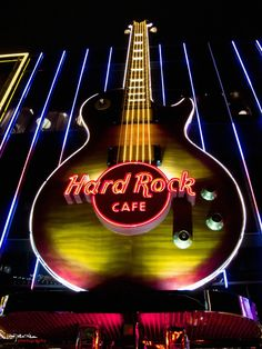 Hard Rock Cafe:                     Las Vegas                      Nevada/America