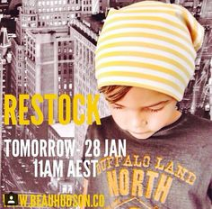 Restock Info // Featuring the Lemonade Bandit Beanie Available tomorrow! 27/1/15