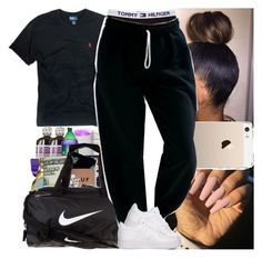 """Untitled #786"" by msixo ❤ liked on Polyvore featuring NIKE, Polo Ralph Lauren and Gildan"