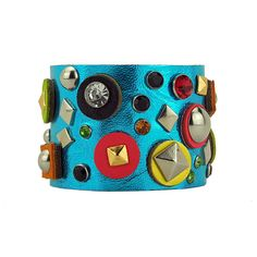 Brigetta Leather Cuff