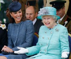 """A new book has revealed what Elizabeth II really thinks about her grandson's """"commoner"""" wife Catherine, the Duchess of Cambridge."""
