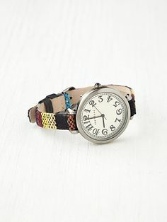 Sedona Woven Strap Watch by Free People $98 in two other colors