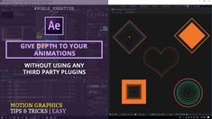 Using the Echo Effect with Animated shape Layers : Adobe After Effects Tutorial -----------------------------------------------------------------------------. Motion Design, Adobe After Effects Tutorials, After Effect Tutorial, Animation Tutorial, Instructional Design, Video Editing, Motion Graphics, Filmmaking, Graphic Design