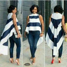 the very best casual outfit a fashionista should have in her closet at the moment African Attire, African Wear, African Fashion Dresses, African Dress, Look Fashion, Girl Fashion, Fashion Outfits, Womens Fashion, Fashion Trends