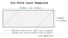 Tri-Fold Christmas Card Template | PaperVine: Christmas Tri-Fold Cards