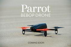 Bebop, le nouveau drone Parrot qui mise sur la vidéo et la réalité virtuelle